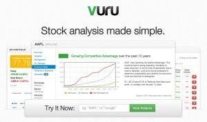 Vuru-homepage