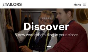 zTailors-homepage
