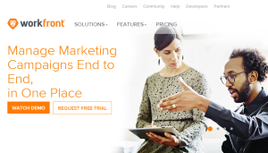 Workfront-homepage