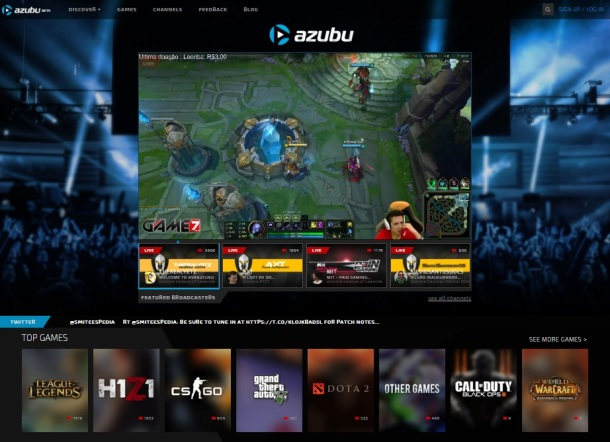 Azubu-games-homepage